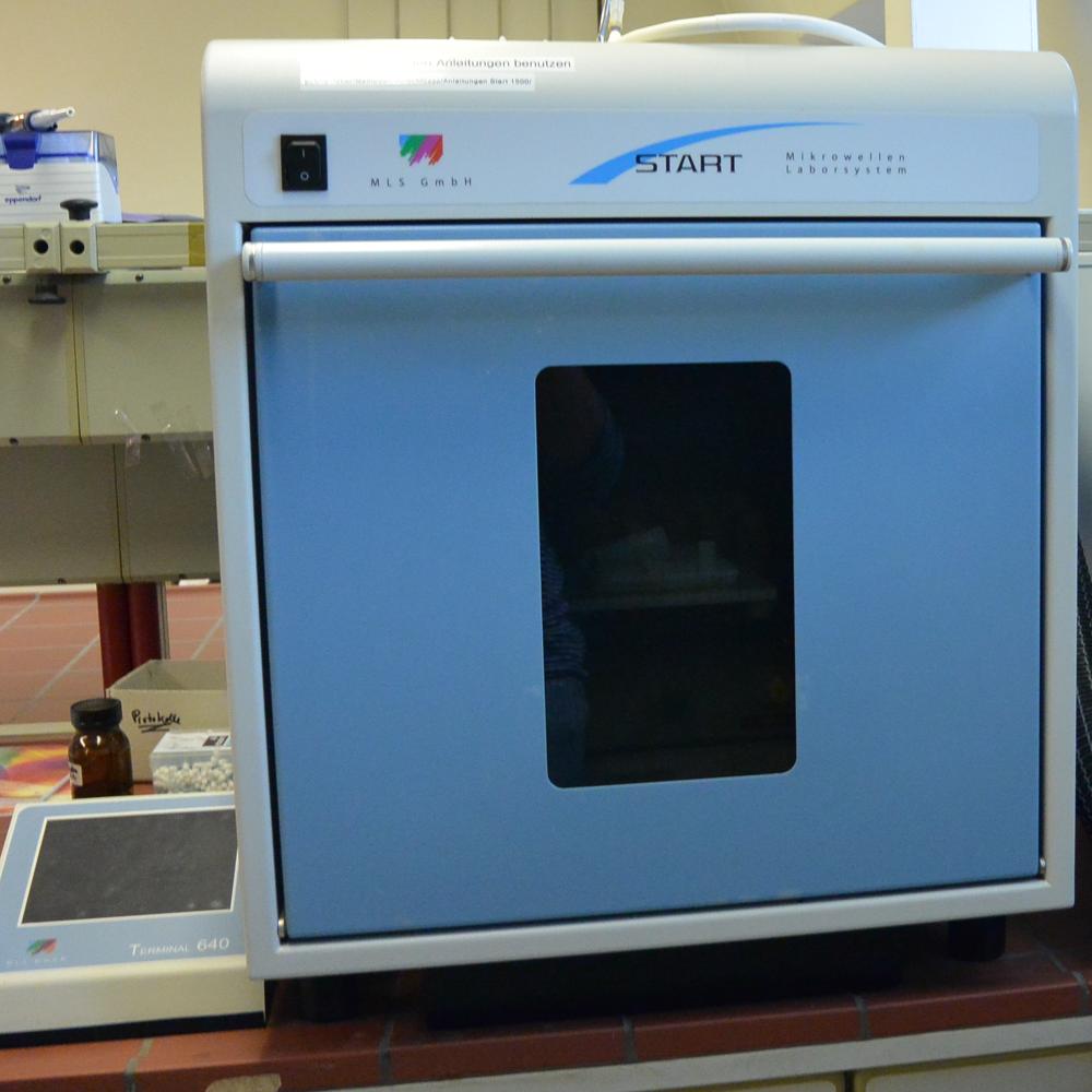 Mikrowellenaufschlusssystem